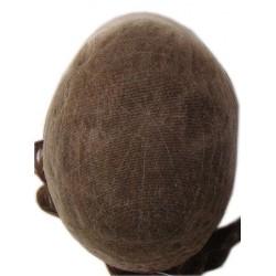 Protesi lace capelli  uomo in retina  tipo swiss lace , invisibile -