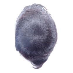 Protesi capelli con pellicola e poliuretano intrno -