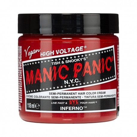 Tinture pazzei per i vostri capelli da Manic Panic -