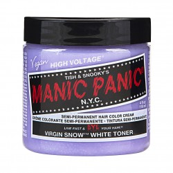 Manic Panic High Voltage® Classic Hair Color 118ml (Virgin Snow™ Toner)
