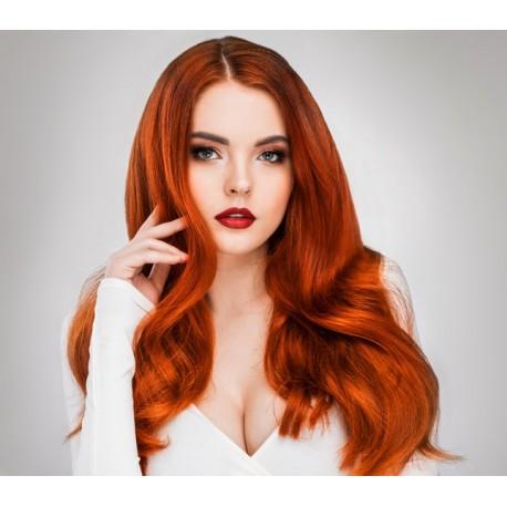 Parrucca Donna  Rossa modello Freida -