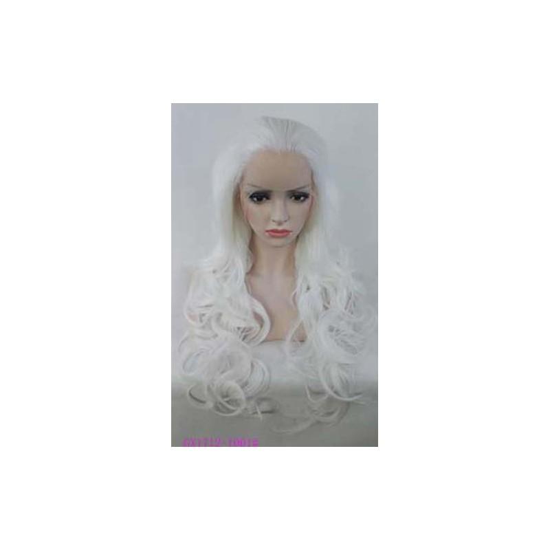 Parrucca bianca neve Donna sintetica -