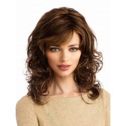 Parrucca  castano chiaro  sintetica Modello  A5 -