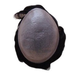 Protesi capelli uomo Pellicola a bassa densità 90% Durata da un mese a 2 massimo sottilissima nessuna differenza tra i