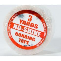 Tape NOSHINE  larghezza3/4 di pollice,lunghezza 2,74 mt. Ideale per pellicole ma soprattutto lace. Non lasciaresidui