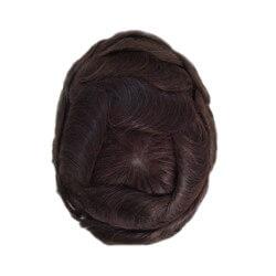 Bella French lace Poli sottile intorno e lace avanti densità 100% o 120% capelli remy indiani Dimensioni 20x25 Costruito