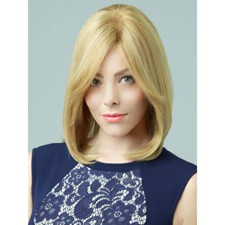 PARRUCCA MODELLO ALISSA Il modello Alissa con base in FRONT-LACE , realizzata esclusivamente con capelli VERGINI di qual