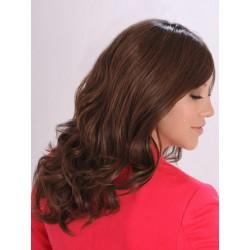 PARRUCCA MODELLO EDVIGE Il modello Edvige con base in FRONT-LACE , realizzata esclusivamente con capelli VERGINI di qual