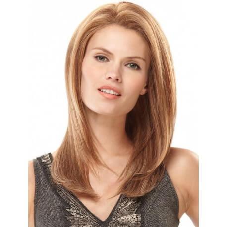 PARRUCCA MODELLO ESTER Il modello Ester con base in FRONT-LACE , realizzata esclusivamente con capelli VERGINI di qualit