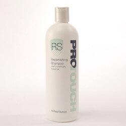 ProTouch Replenishing shampoo. Specifico ed indicato per i portatori di protesi e parrucche in capelli umani Uno shampo