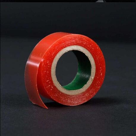 Red Tape di larghezza 19 mm lunghezza 2,74 mt. Ideale per pellicole, poliuretano si usa come base per l'applicazione di