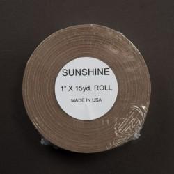 Tape marrone Sunshine Walker, rotolo da 15 yard Larghezza 2,5 Cm lunghezza 13,7 mt. Il tape e di tipo trasparente sotti