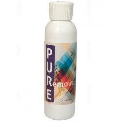Pure Remover Remover è una formula atossica e biodegradabile. Non irrita la pelle delicata sulle pellicole più sottili.