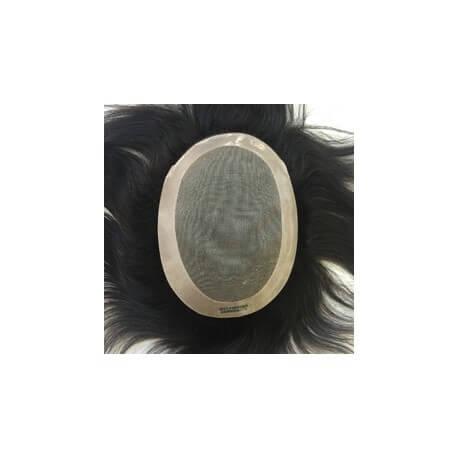 Classica e duratura , protesi con Fine Mono al centro e poliuretano intorno. Parte del front inFrench Lace Adatta ai n