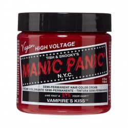 Stile : Classica tintura semi-permanente diretta Colore: Vampire Kiss Volume: 118ml Ingredienti: Vegan Friendly, PPD Fre