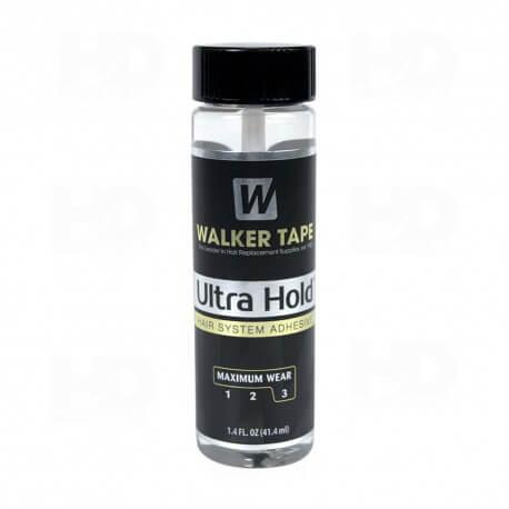 Walker Ultra Hold 41 ml Colla per parrucche, toupee e impianti capillari. Tempo di tenuta fino a 4 settimane molto resit