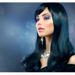 PARRUCCA MODELLO AVERY Il modello Avery con base in FRONT-LACE , realizzata esclusivamente con capelli sintetici Ipoalle
