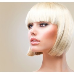 PARRUCCA MODELLO MADDELYN Il modello Maddelyn con base in FRONT-LACE , realizzata esclusivamente con capelli sinteticik
