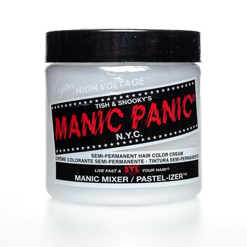 Rende i colori delle tinture Manic Panic Pastello Si aggiunge ai colori normali fino ad ottenere la tinta pastello desi