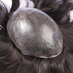 Protesi su misura Il modello SU MISURA con base in skin , realizzata esclusivamente con capelli REMY di qualità 6A. Pell