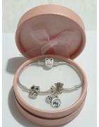 Gioielli, bracciali, charms, collane, pendenti, orecchini argento 925
